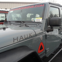 Hauk Designs Windshield Banner