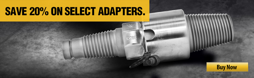 20% off select adapters