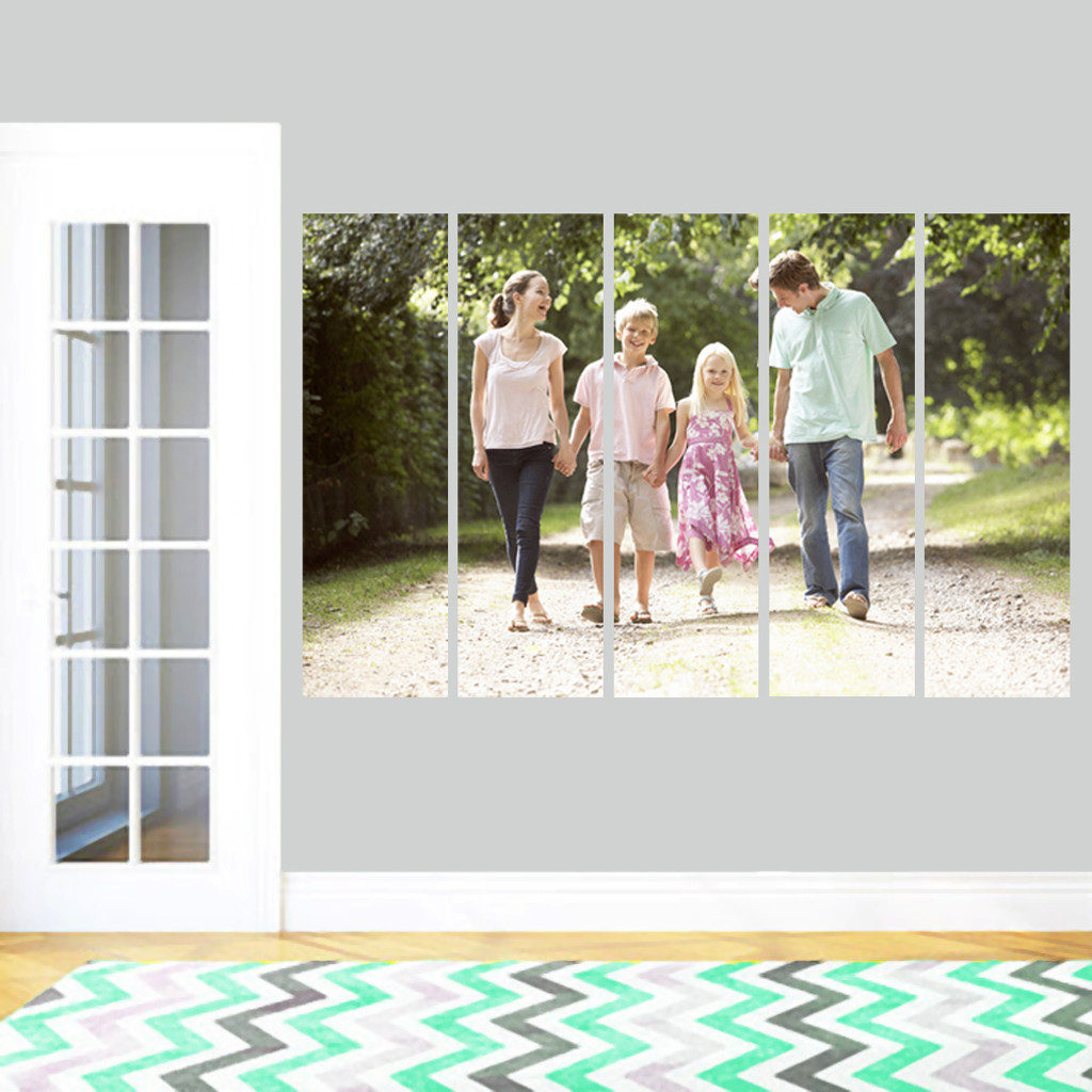 Custom Stripe Photo Wall Decals and Stickers
