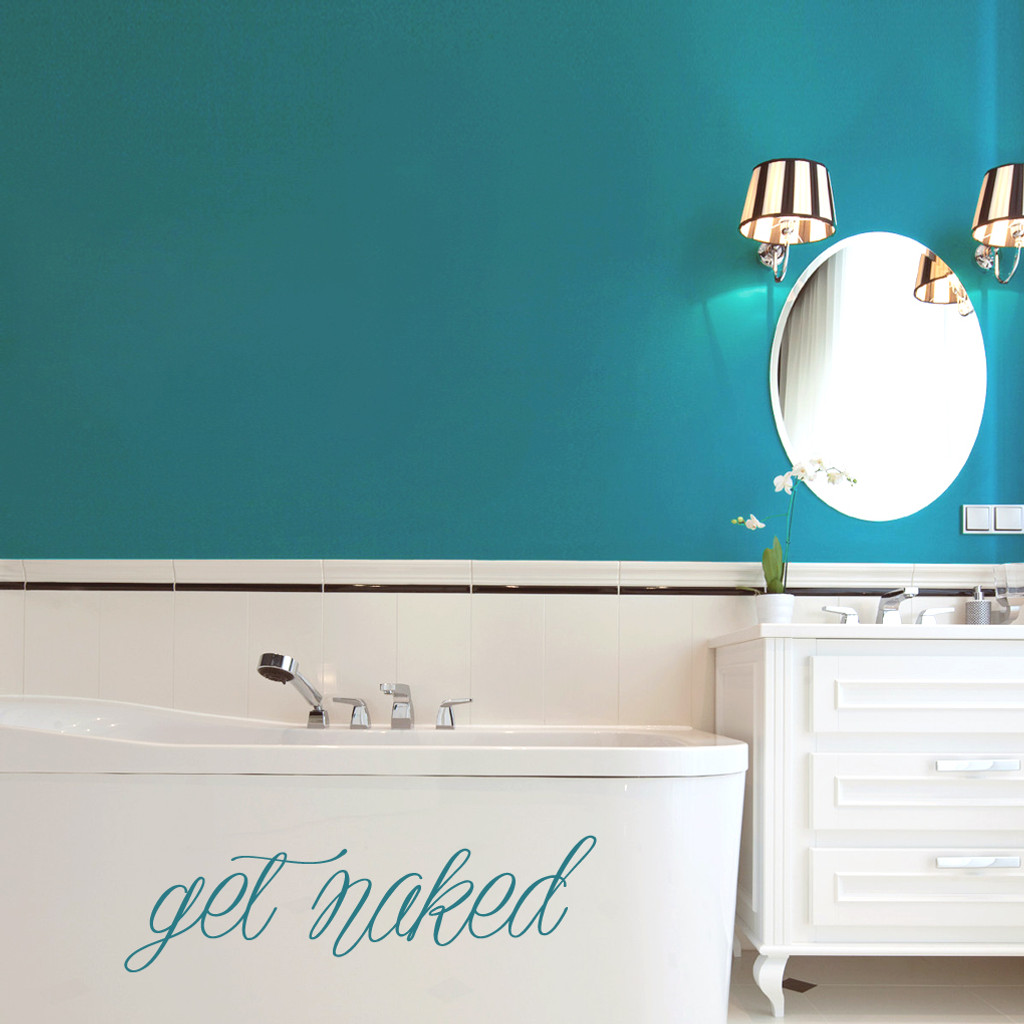 Get Naked Wall Decals and Stickers