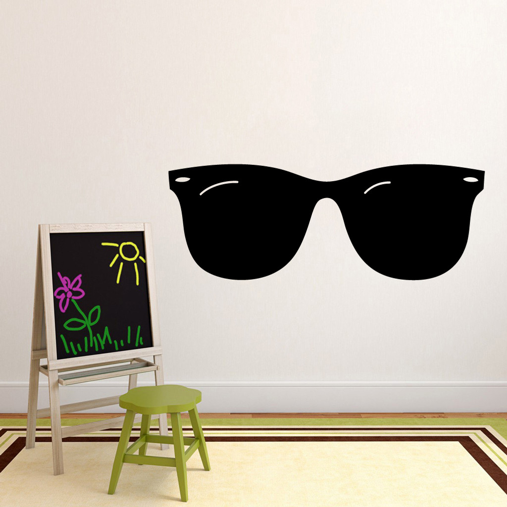 """Sunglasses Wall Decals 60"""" wide x 22"""" tall Sample Image"""