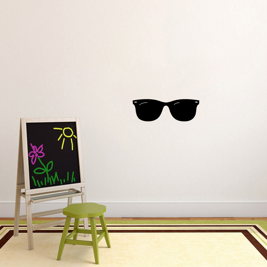 """Sunglasses Wall Decals 24"""" wide x 8"""" tall Sample Image"""