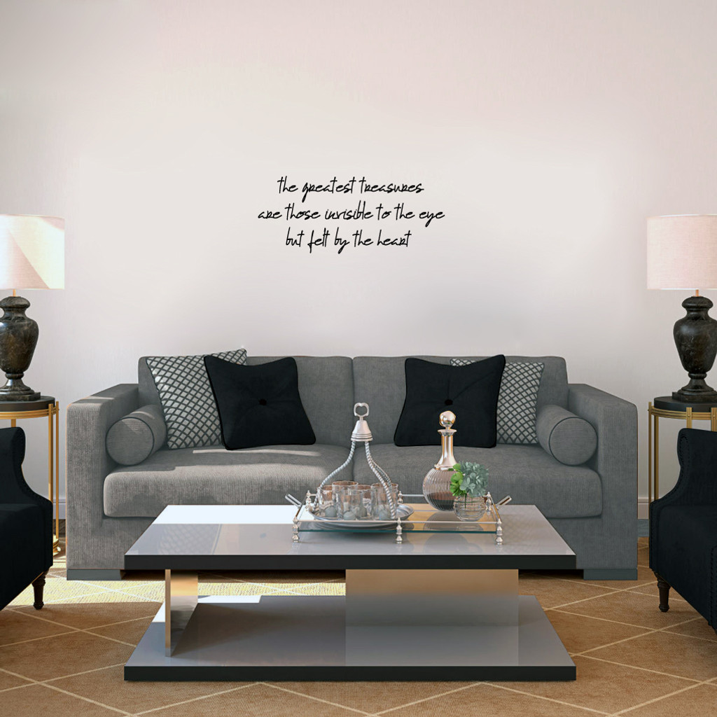 "Greatest Treasures Wall Decals 24"" wide x 10"" tall Sample Image"