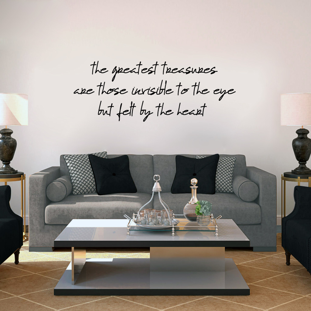 "Greatest Treasures Wall Decals 60"" wide x 22"" tall Sample Image"