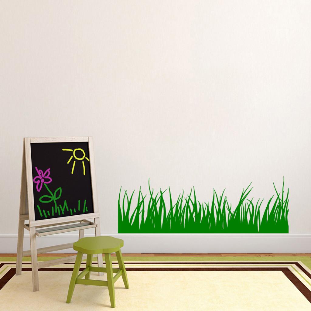 Grass Wall Decals Wall Decor Stickers - Wall decals grass