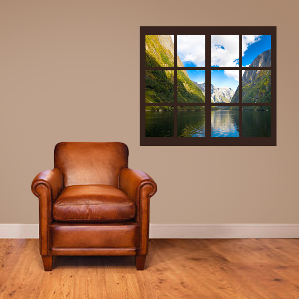 Mountain Scene With Frame