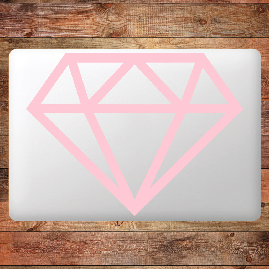 Diamond Device Decals Wall Stickers