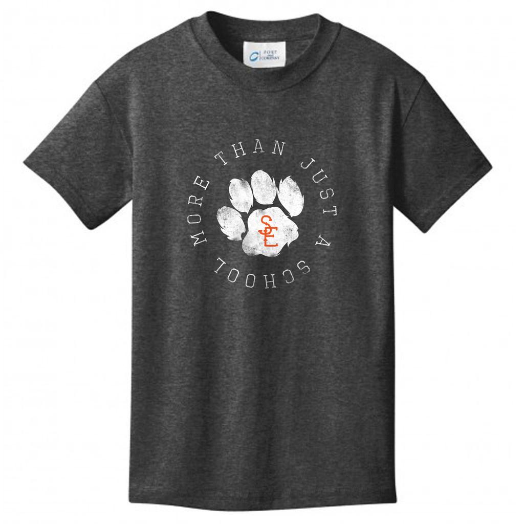 Dark Heather Grey Seneca East More Than Just A School Youth T-Shirt