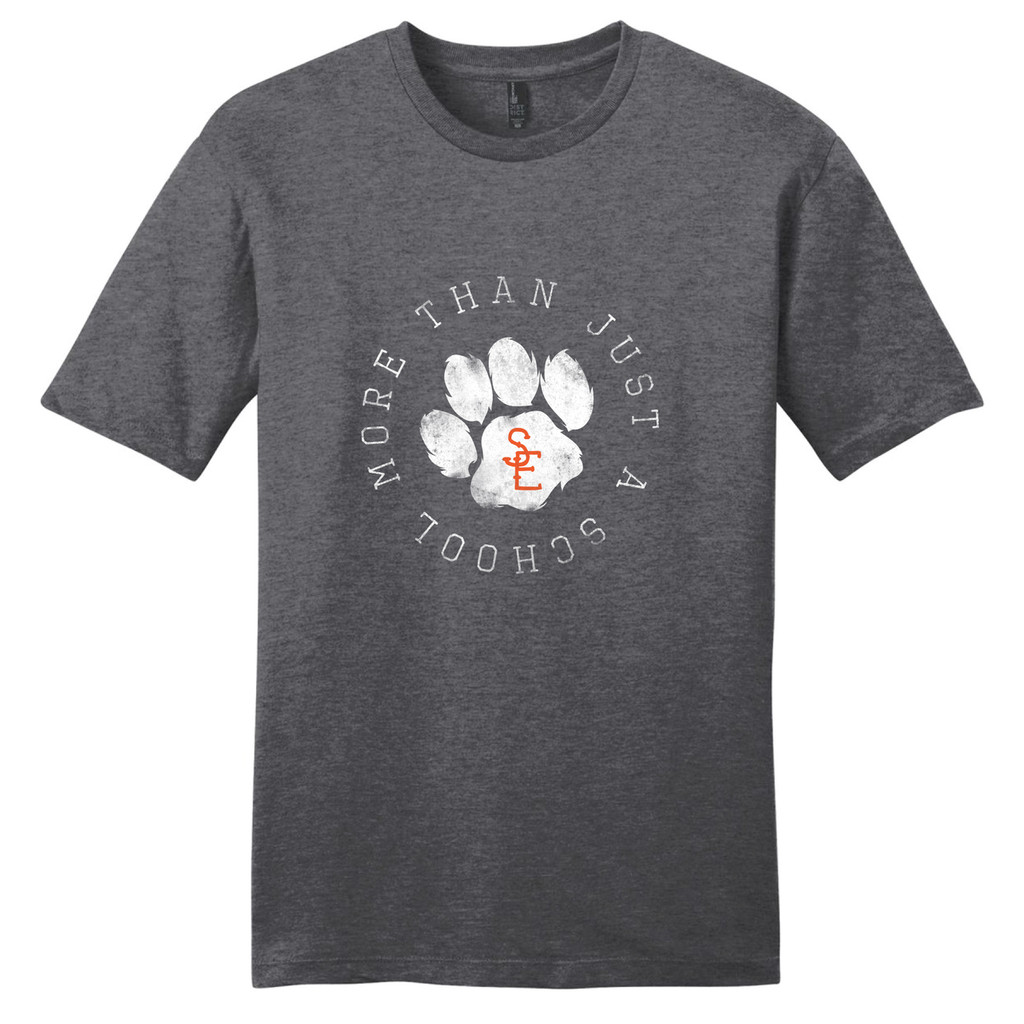 Heathered Charcoal Seneca East More Than Just A School T-Shirt