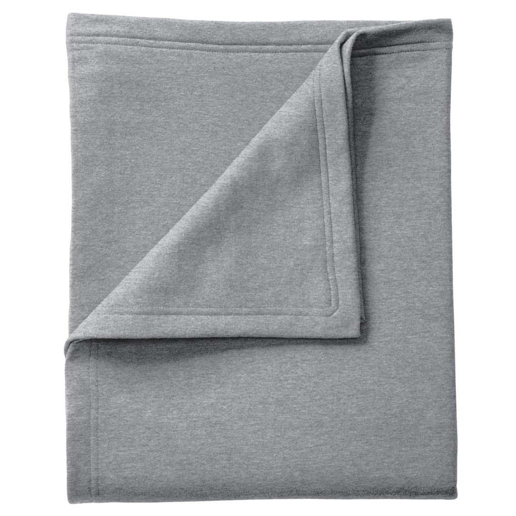 Seneca East Paw Print Fleece Sweatshirt Blanket