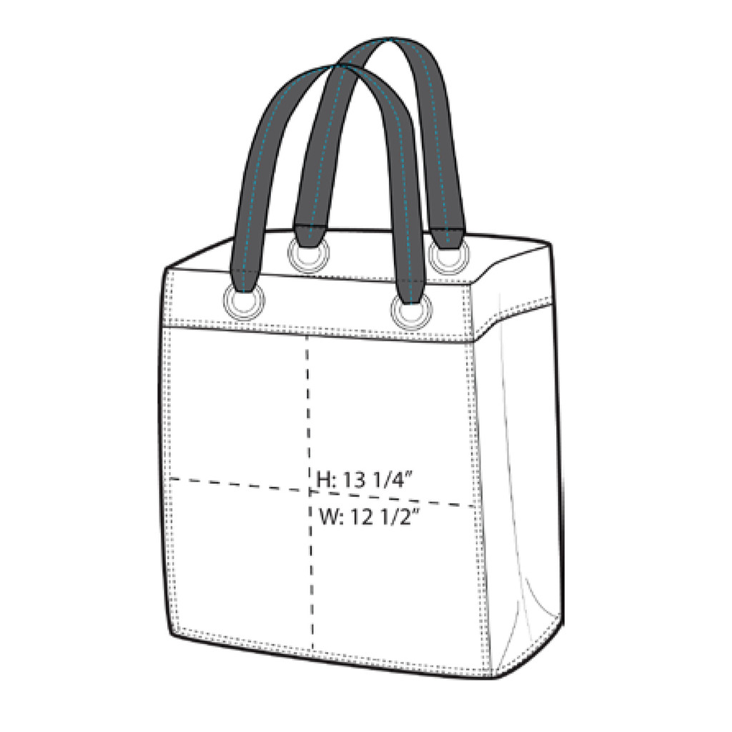 Get It Together Tote Bag Dimensions
