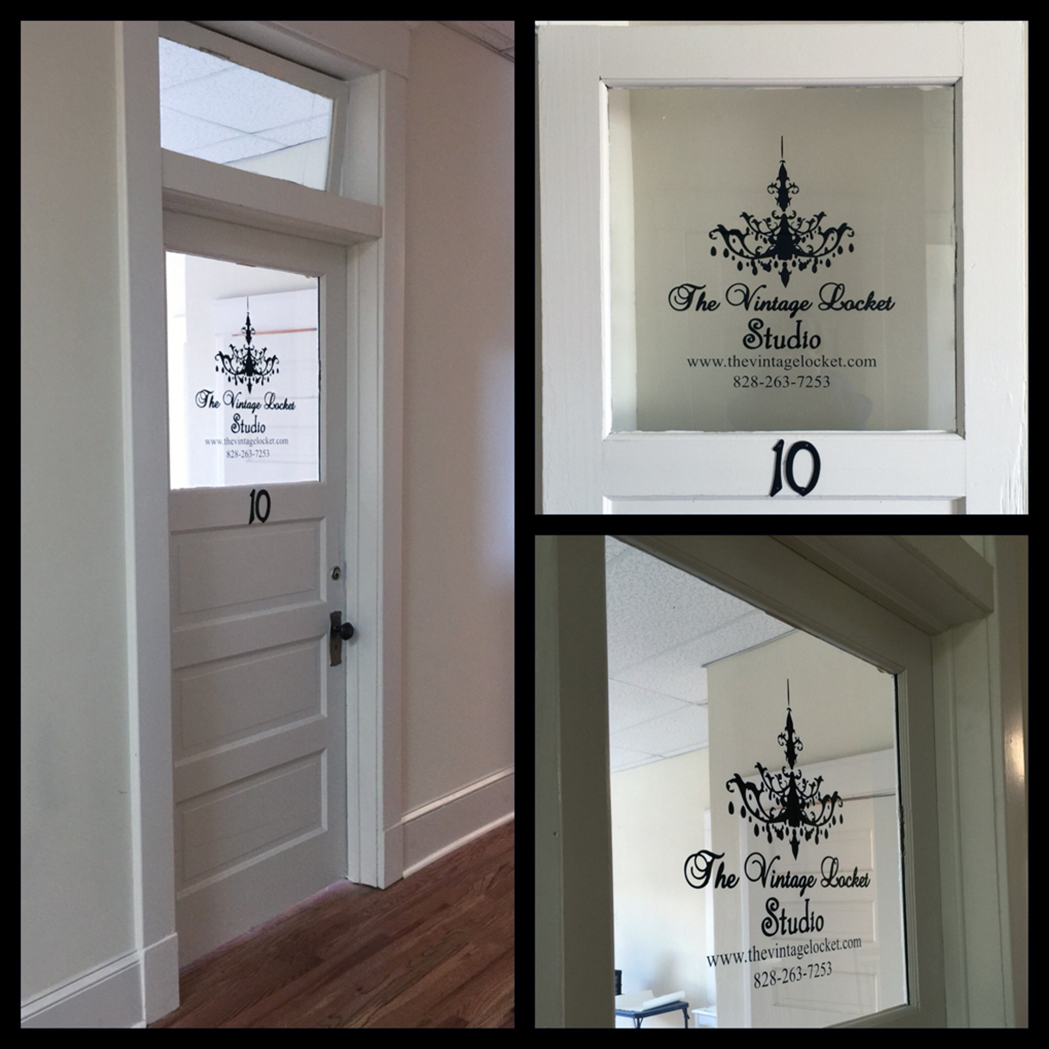 Custom Business Logo Window Decals Wall Decor Stickers - Window decals custom business