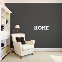 """Home Wall Decals 24"""" wide x 6"""" tall Sample Image"""