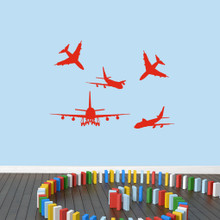 Airplanes Wall Decals Small Sample Image