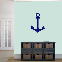"""Anchor Wall Decal 16"""" wide x 24"""" tall Sample Image"""