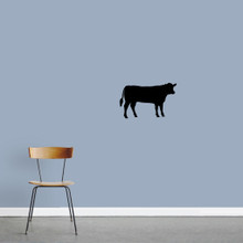 "Cow Wall Decals 24"" wide x 15"" tall Sample Image"