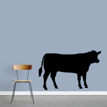 "Cow Wall Decals 60"" wide x 38"" tall Sample Image"