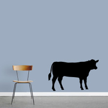 "Cow Wall Decals 48"" wide x 30"" tall Sample Image"