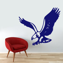 "Flying Eagle Wall Decals 48"" wide x 44"" tall Sample Image"