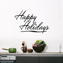 Happy Holidays Wall Decals and Wall Stickers
