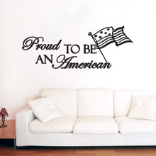 Proud To Be An American Wall Decals and Wall Decals
