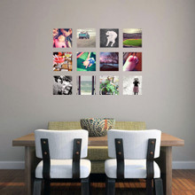 Custom Small Square Photo Wall Decals and Stickers
