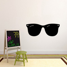 """Sunglasses Wall Decals 48"""" wide x 18"""" tall Sample Image"""