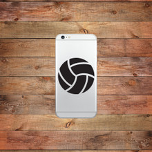 Volleyball Device Decal Water Bottle Sticker