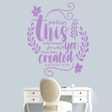 """Perhaps This Is The Moment Wall Decal 40"""" wide x 48"""" tall Sample Image"""