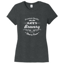 Black Frost Custom Brewery Bar Women's Fitted T-Shirt