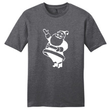 Heathered Charcoal Santa Claus T-Shirt