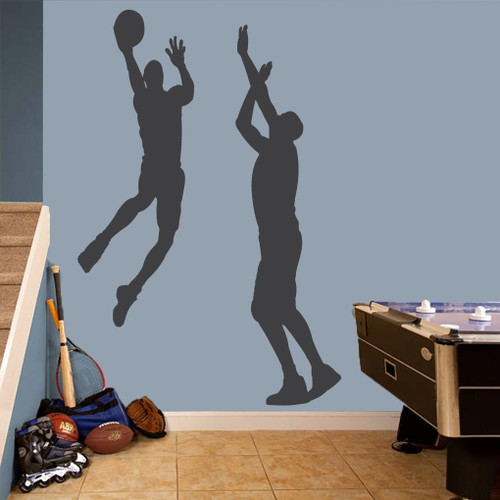 Basketball Guys Set Wall Decals Large Sample Image