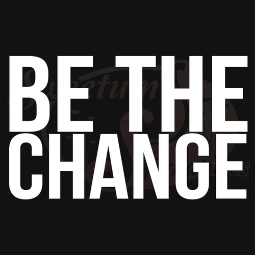 Be The Change Vehicle Decals Stickers