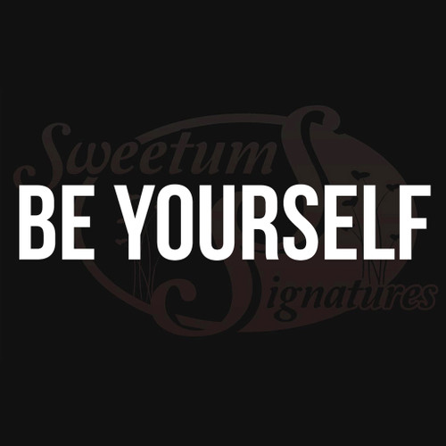 Be Yourself Vehicle Decals Stickers