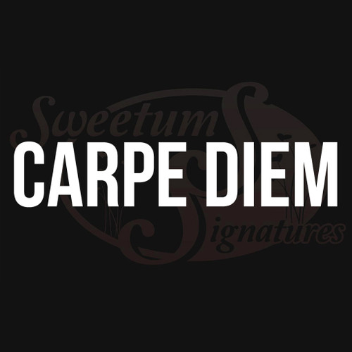 Carpe Diem Vehicle Decal Wall Stickers