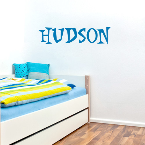 Custom Funky Font Name Wall Decals and Stickers
