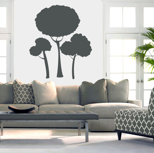 Tree Cluster - Wall Decals and Stickers