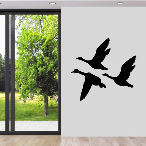 Flying Ducks Wall Decals Wall Stickers Large Sample Image