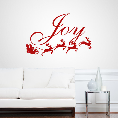 Joy Wall Decals and Wall Stickers