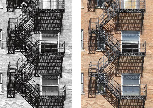 Letter Photography - Letter E - Fire Escape Wall Art and Wall Decal Prints
