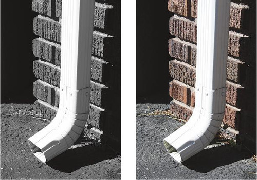 Letter Photography - Letter J - Downspout Wall Art and Wall Decal Prints