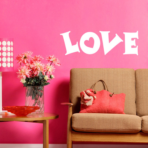 Love Wall Decals and Wall Stickers