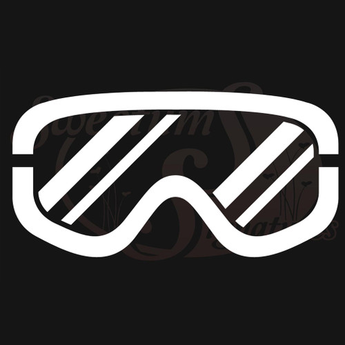 Ski Goggles Vehicle Decals Wall Stickers