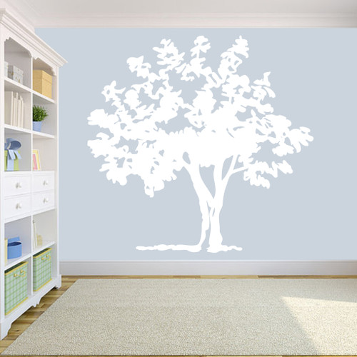 """Storybook Tree Wall Decals 75"""" wide x 72"""" tall Sample Image"""