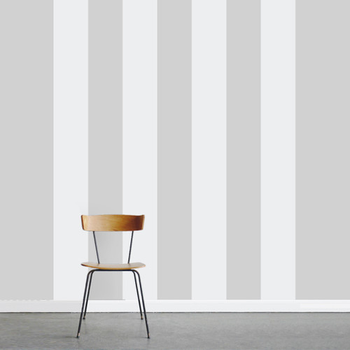 """Set of Stripes Wall Decals 4 Stripes Each 10"""" wide x 108"""" tall Sample Image"""