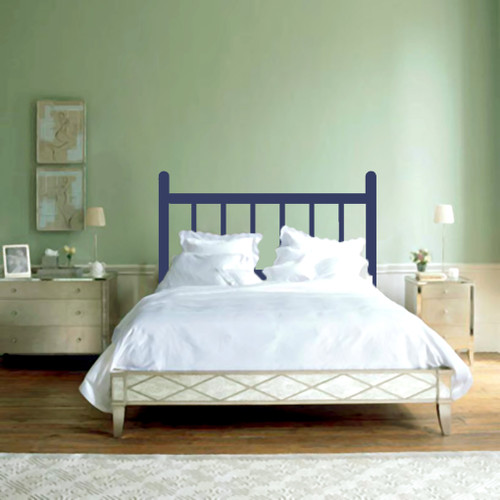 Traditional Headboard Wall Decals and Wall Stickers