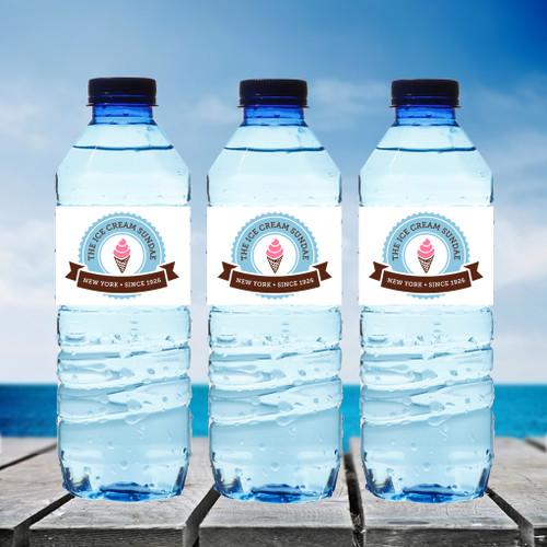 Water Bottles with Custom Artwork.