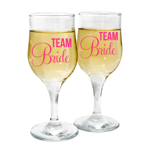 Team Bride Decals and Stickers