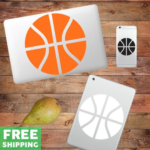 Basketball Device Decals Water Bottle Sticker