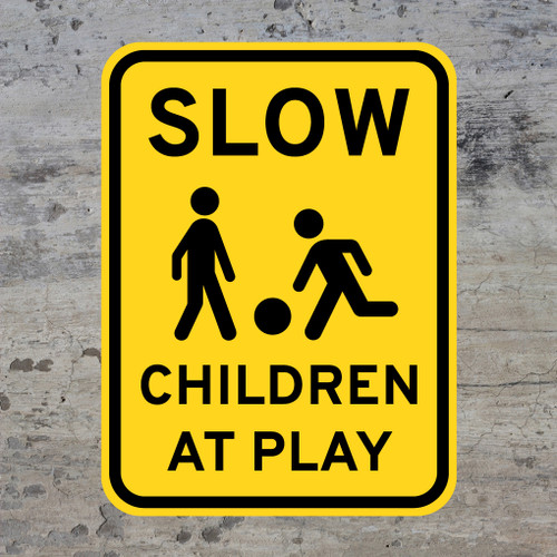 Slow Children At Play Decal Wall Stickers